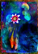 Lotus Prints - Lovers Print by Gina Signore
