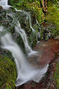 Buttermilk Photos - Lower Buttermilk Falls by Stephen  Vecchiotti