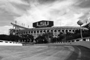 Lsu Posters - LSU Tiger Stadium Poster by Scott Pellegrin