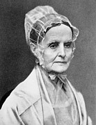 Quaker Prints - Lucretia Coffin Mott Print by Granger