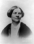 Anti-slavery Prints - Lucy Stone, American Abolitionist Print by Photo Researchers