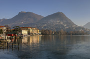 City Center Prints - Lugano Print by Joana Kruse