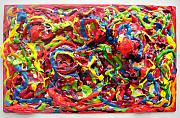 Abstract And Or Expressionistic Work - Lusciously Lascivious Paint by Charles Peck