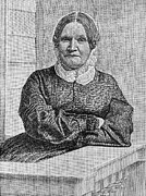 Abolition Metal Prints - Lydia Maria Child (1802-1880) Metal Print by Granger