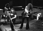 Concert Images Metal Prints - Lynyrd Skynyrd at Winterland Metal Print by Ben Upham