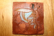 Africa Ceramics Ceramics - Mabel - tile by Gloria Ssali