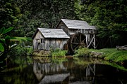 Christine Annas Metal Prints - Mabry Mill Metal Print by Christine Annas
