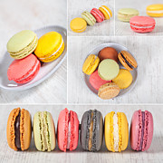 Specialty Framed Prints - Macarons Framed Print by Sabino Parente