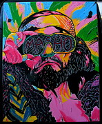 Randy Savage Paintings - Macho Man by Brian Typhair