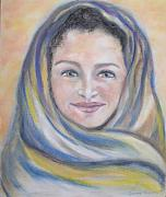 Catholic Pastels Prints - Magdalena Print by Suzanne Reynolds
