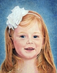 Colored Pencils Drawings Prints - Maggie Print by Kathy Dolan