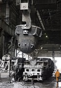 Production Photos - Magnitogorsk Iron And Steel Works by Ria Novosti
