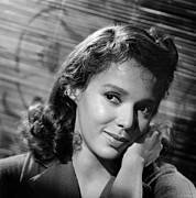 Malaga, Dorothy Dandridge, 1960 Print by Everett