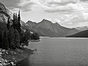 Samson Posters - Maligne Lake Poster by RicardMN Photography