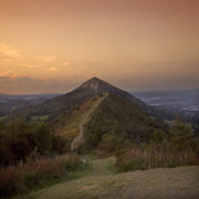 New Year Sunset Prints - Malvern Hill Print by Angel  Tarantella