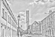 Europe Photo Originals - Manchester - Beetham Tower by Hristo Hristov