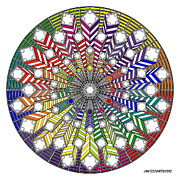 Jim Gogarty - Mandala drawing 38