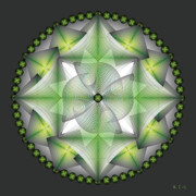 Metaphysics Posters - Mandala No. 47 Poster by Alan Bennington
