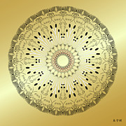 Metaphysics Prints - Mandala No. 95 Print by Alan Bennington