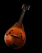 Jean Noren Metal Prints - Mandolin Metal Print by Jean Noren