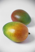 Mango Acrylic Prints - Mangoes Acrylic Print by Veronique Leplat