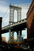 Bridges Photos - Manhattan Bridge 2 by Mark Gilman