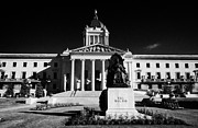 Manitoba Posters - Manitoba Legislative Building Winnipeg Manitoba Canada Poster by Joe Fox