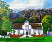 Durst Painting Prints - Manor House Print by Michael Durst