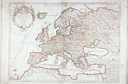 Antique Map Digital Art - Map Of Europe by Fototeca Storica Nazionale