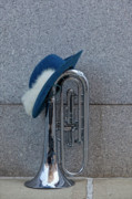 Marching Band Photos - Marching Band Instrument by Robert Ullmann