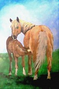 Jennifer Jeffris - Mare and Foal