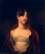 Dark Red Framed Prints - Margaret Moncrieff Framed Print by Sir Henry Raeburn