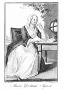 Bologna Photos - Maria Agnesi, Italian Mathematician by Humanities & Social Sciences Librarynew York Public Library