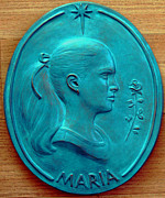 Profile Sculptures - Maria by Bob Botha