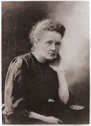 Laureates Framed Prints - Marie Curie 1867-1934, Polish-french Framed Print by Everett