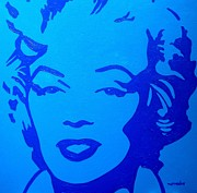 Singer  Paintings - Marilyn by John  Nolan