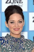 Updo Acrylic Prints - Marion Cotillard At Arrivals Acrylic Print by Everett