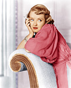 Diamond Bracelet Photo Posters - Marked Woman, Bette Davis, 1937 Poster by Everett