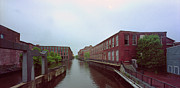 Wide Belt Prints - Market Mills Lowell Print by Jan Faul