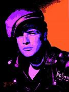 Keaton Digital Art - Marlon Brando 1 by John Keaton