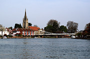 Marlow Prints - Marlow Bridge Print by Chris Day