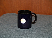 Surrealism Ceramics Metal Prints - Mars Custom photo reproduction Coffee mug- Side A Metal Print by Ryan Demaree