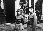Pershing Photos - Marshal Ferdinand Foch, General John J by Everett