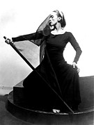 Choreographer Posters - Martha Graham In Her Tragic Holiday Poster by Everett
