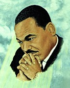 Rights Paintings - Martin by Henry Frison