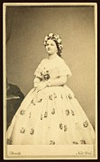 Lady Washington Framed Prints - Mary Todd Lincoln 1818-1882 Framed Print by Everett