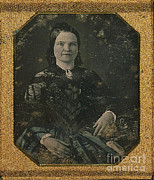 First Lady Metal Prints - Mary Todd Lincoln, First Lady Metal Print by Photo Researchers