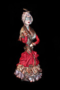 Dress Sculpture Framed Prints - Masquerade Framed Print by Afrodita Ellerman