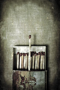 Unused Photo Posters - Matches Poster by Joana Kruse