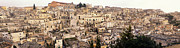 Sassi Framed Prints - Matera Panoramic  View Framed Print by Gualtiero Boffi